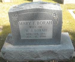Mary Frances <i>Bradley</i> Borah