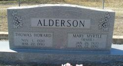 Mary Myrtle Alderson