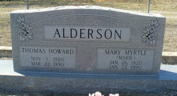 Thomas Howard Alderson