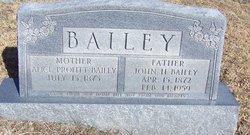 Alice <i>Profitt</i> Bailey