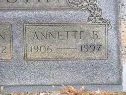 Annette <i>B.</i> Austin