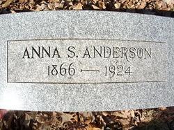 Anna S Anderson