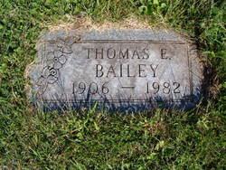 Thomas Edward Bailey