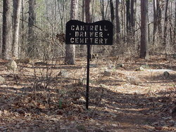 Cantrell Brewer Cemetery