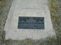 Martha Lucretia <i>Brown</i> Turnbow