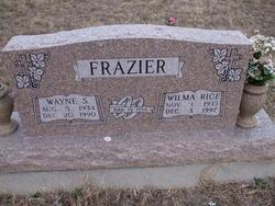 Wilma Faye <i>Rice</i> Frazier