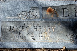 James Henry Admire