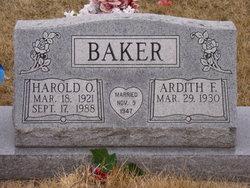 Harold O. Baker
