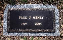 Frederick Sherwood Fred Abney