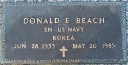 Donald E Beach