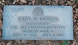 Earl E. Binion