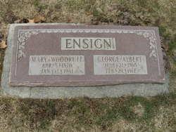 Mary Catherine Lloyd <i>Woodruff</i> Ensign