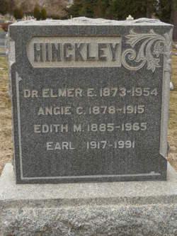 Dr Elmer Eugene Hinckley