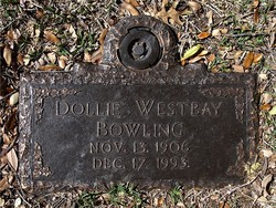 Dollie A <i>Westbay</i> Bowling