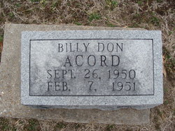Billy Don Acord