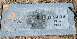 Emma Louise <i>Parker</i> Goldsmith