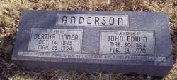 Bertha Linnea <i>Holmberg</i> Anderson