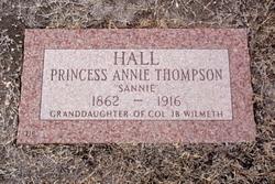 Princess Annie Sannie <i>Thompson</i> Hall