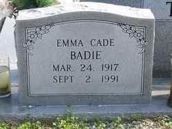 Emma <i>Cade</i> Badie