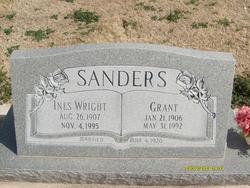 Ines <i>Wright</i> Sanders