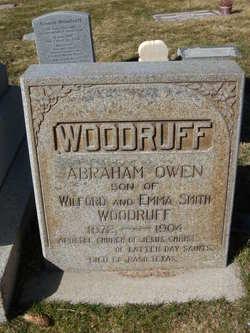 Abraham Owen Woodruff