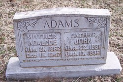 Adalede <i>Dilday</i> Adams