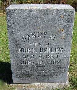 Nancy Mary <i>Galer</i> Behling