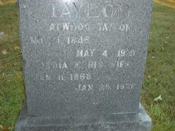 Lydia E. <i>Acree</i> Taylor