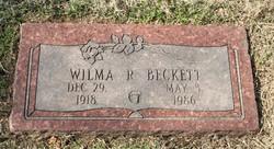 Wilma Ruth <i>Ogle</i> Beckett