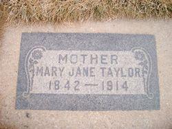 Mary Jane <i>Hiatt</i> Taylor
