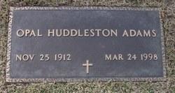 Opal <i>Huddleston</i> Adams