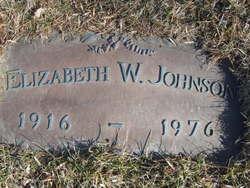 Elizabeth Wilhelmina <i>Swanson</i> Johnson