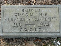 Ruth <i>Friedman</i> Katzen