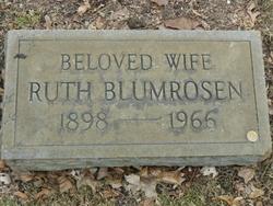 Sarah Ruth <i>Thal</i> Blumrosen