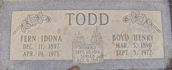 Fern Idona <i>Johnson</i> Todd