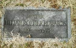Lillian Julia <i>Roeder</i> Edwards