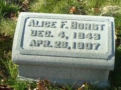 Alice Frances <i>Hotchkiss</i> Borst