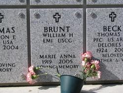 Marie Anna <i>Handford</i> Brunt