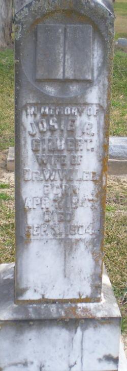 Josie R. <i>Gilbert</i> Lee
