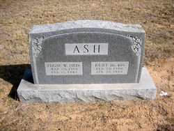 Ruby Sarah Rachel <i>Crosby</i> Ash