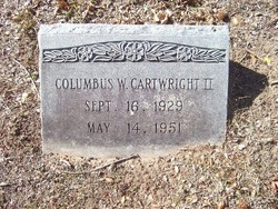 Columbus W. Cartwright, II