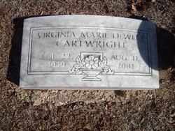 Virginia Marie <i>DeWitt</i> Cartwright