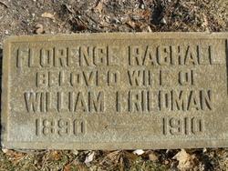 Florence Rachall <i>Blumrosen</i> Friedman