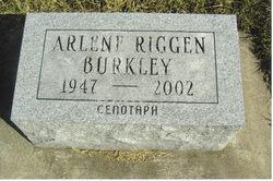 Arlene <i>Riggen</i> Burkley