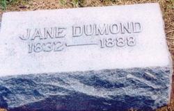 Diana Jane <i>Oliver</i> Dumond