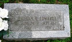 Lillian E. Lillie <i>Yancy</i> Edwards