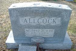 Mildred <i>Butler</i> Allcock