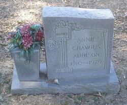 Annie <i>Chavous</i> Addison