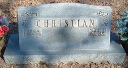 Ella <i>Williams</i> Christian