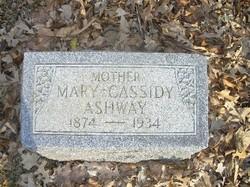 Mary E <i>Fisher</i> Ashway